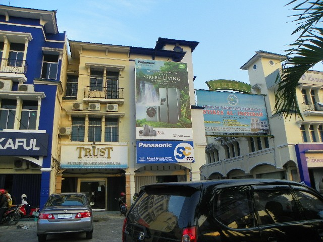 Signboard Shop Sign Panasonic SC - Zealot Advertising Pekanbaru