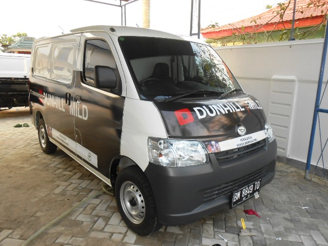 Reklame Sticker Car Branding Dunhill Mild - Zealot Advertising Pekanbaru