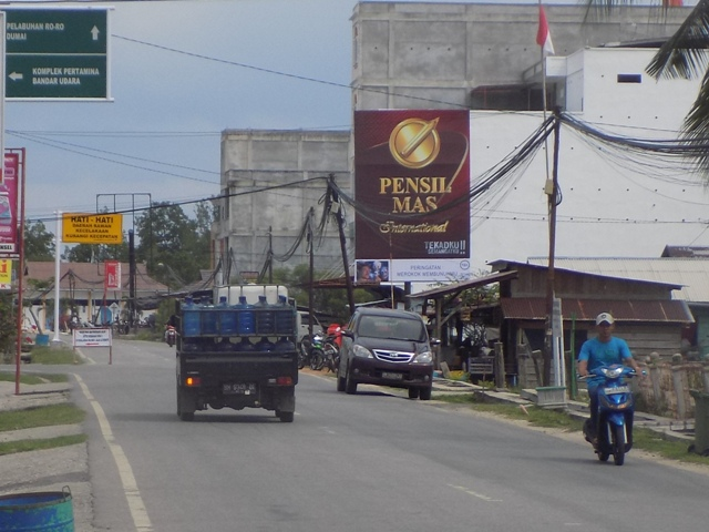 Reklame Baliho Pensil Mas - Zealot Advertising Pekanbaru