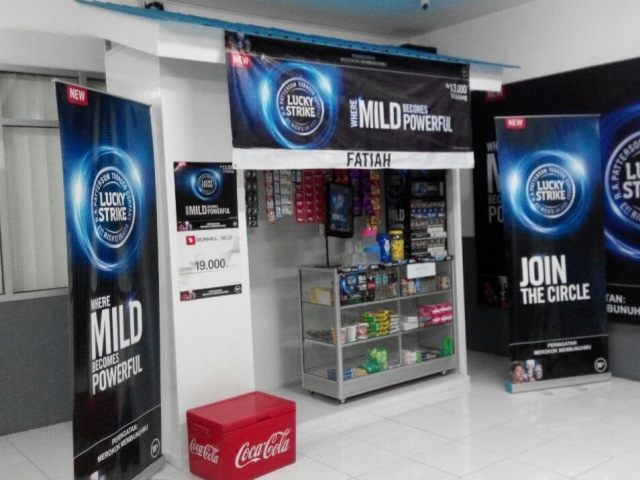 Reklame Dummy Kiosk - Zealot Advertising Pekanbaru