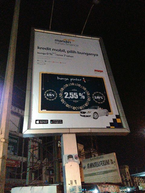 Reklame Baliho Mandiri Tunas Finance - Zealot Advertising Pekanbaru